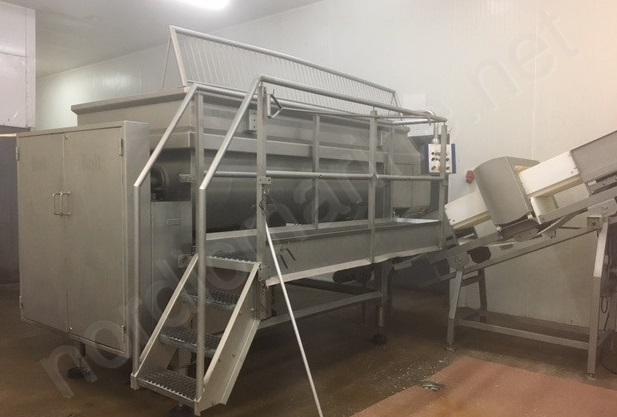 Poultry mechanically deboned meat processing line