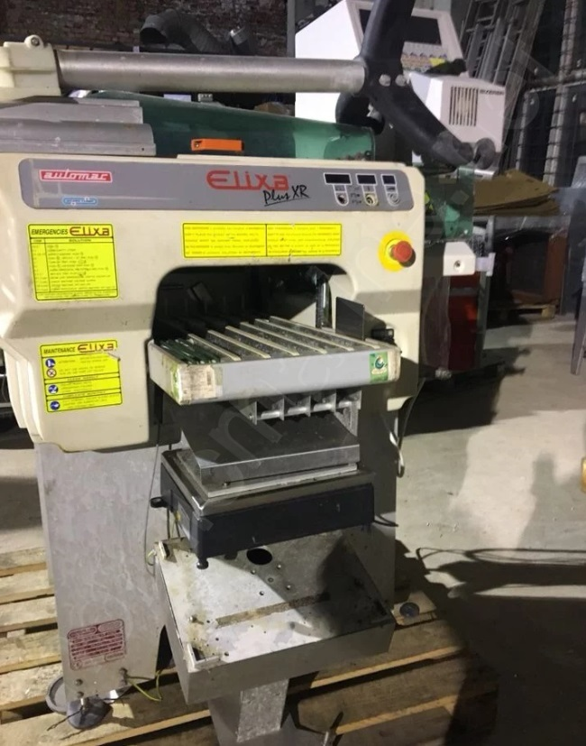 Waldyssa Elixa Plus XR Wrapping machine for food products