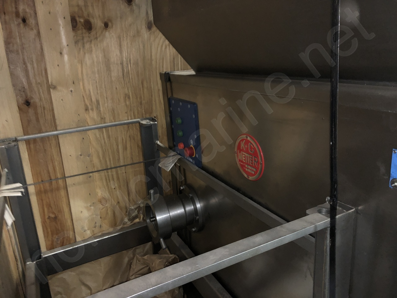 K+G Wetter  WW 130 Grinder for meat prodcuts