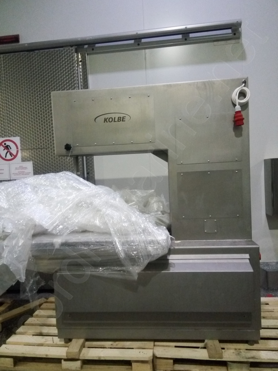Kolbe K 800 Band saw for frozen fish and meat