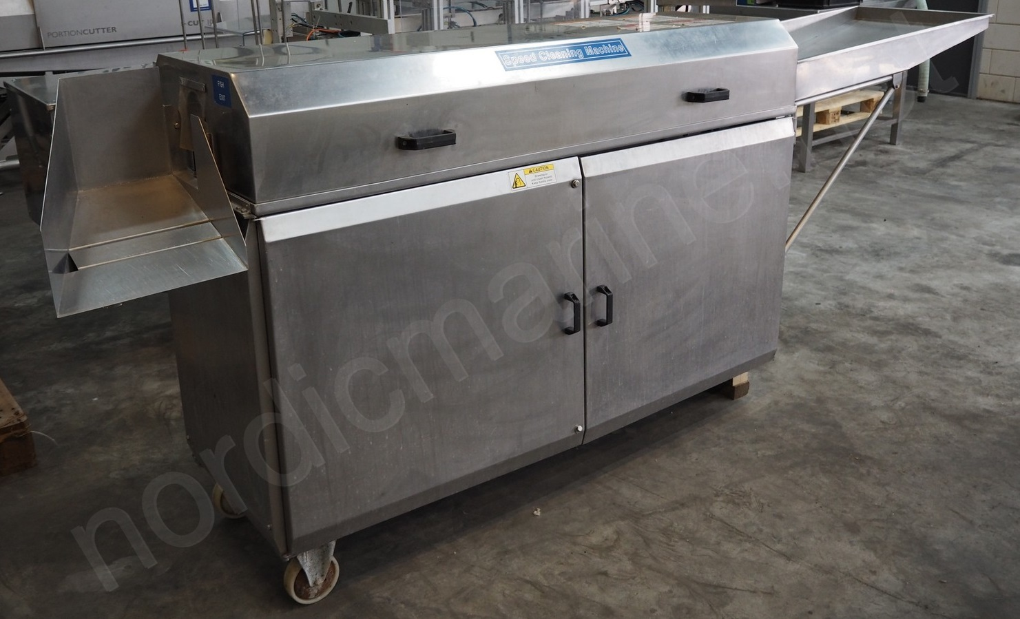 Fish Speed Cleaning Machine PRC for seabass, dorado, perch
